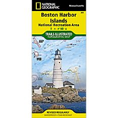 265 Boston Harbor Islands National Recreation Area Trail Map
