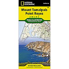 266 Mount Tamalpais, Point Reyes Trail Map