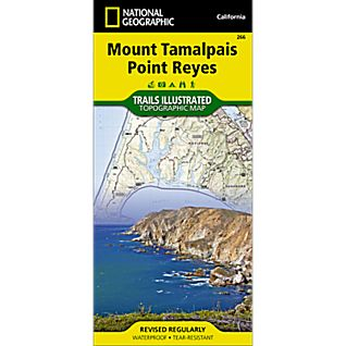 View 266 Mount Tamalpais/Pt. Reyes Trail Map image