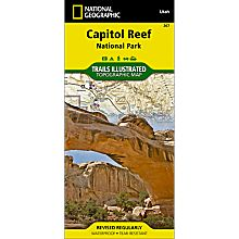 267 Capitol Reef National Park Trail Map, 2013