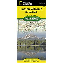 268 Lassen Volcanic National Park Trail Map
