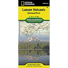 268 Lassen Volcanic National Park Trail Map, 2014
