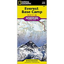 Everest Base Camp Adventure Travel and Hiking Map