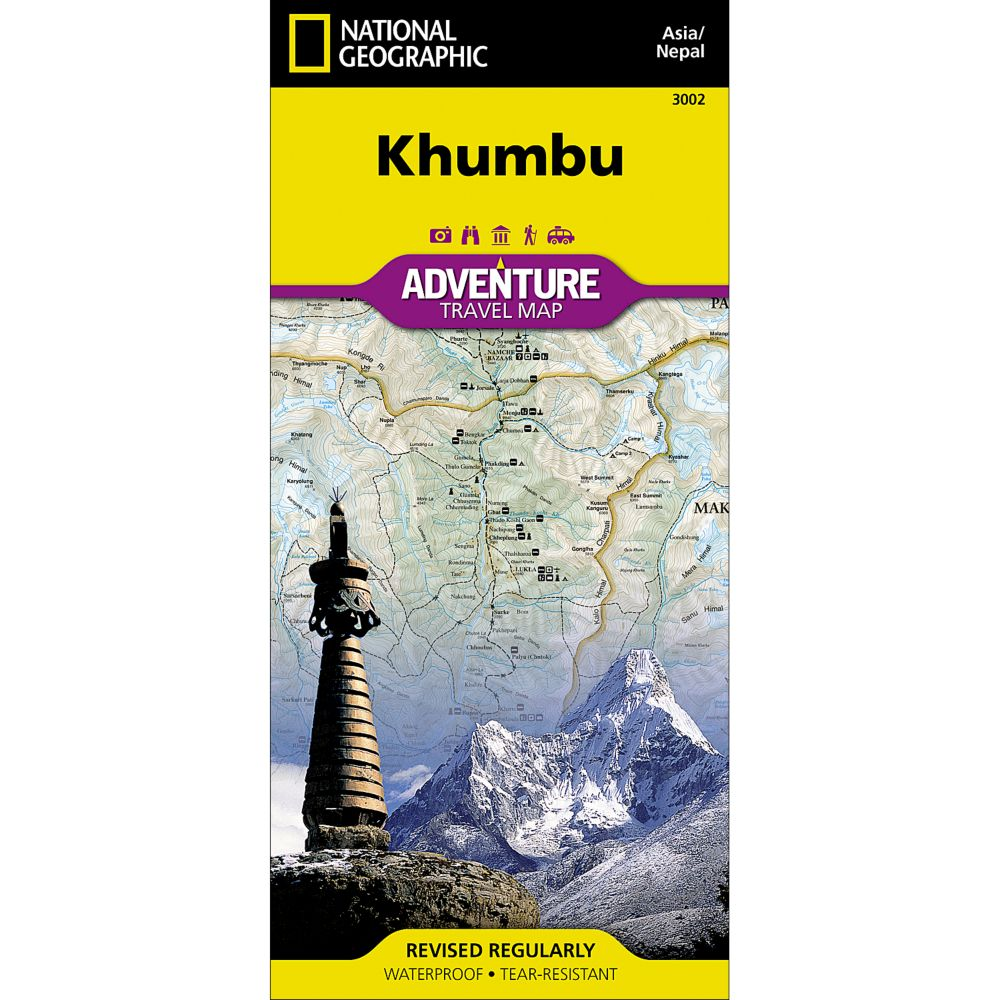 National Geographic Khumbu, Nepal, Adventure Map