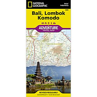 View Bali, Lombok, and Komodo Adventure Map image