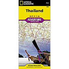 Thailand Adventure Map, 2011