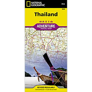 National Geographic Thailand Adventure Map
