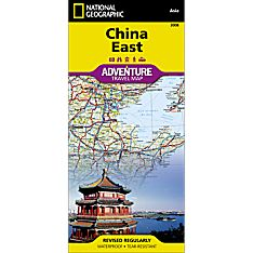 China East Adventure Map, 2011