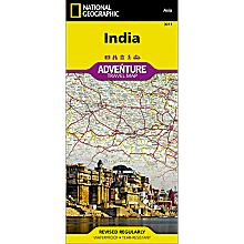 India Adventure Map, 2011