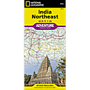 India Northeast Adventure Map