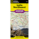 India Northwest Adventure Map