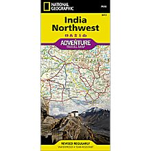 Adventure Travel Map of India