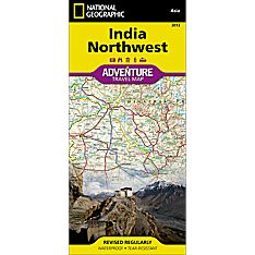 India Northwest Adventure Map, 2011