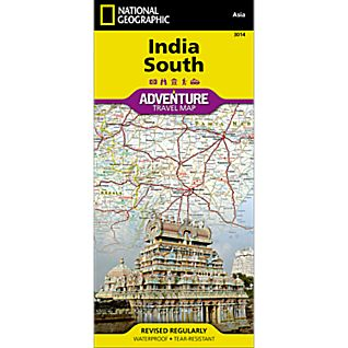 View India South Adventure Map image