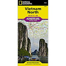 Vietnam, North Adventure Map, 2011