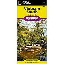 Vietnam, South Adventure Map, 2011