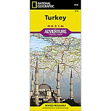 Turkey Adventure Map, 2012