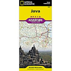 Java (Indonesia) Adventure Map