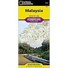 Malaysia Adventure Map, 2012