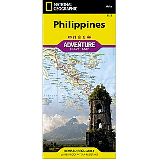 National Geographic Philippines Adventure Map