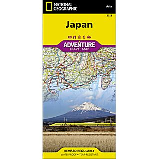 National Geographic Japan Adventure Map