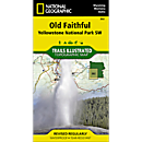 302 Southwest Yellowstone - Old Faithful Trail Map