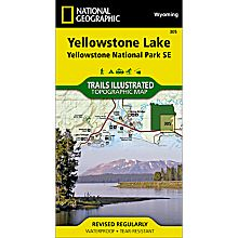Maps of Yellowstone Hiking Trails