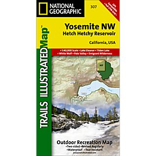 National Geographic Yosemite NW - Hetch Hetchy Reservoir