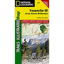 309 Yosemite National Park SE - Ansel Adams Wilderness - 9781566954136