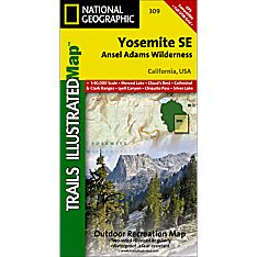 Yosemite National Park Trails Map
