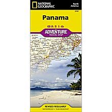 Panama Adventure Map, 2006