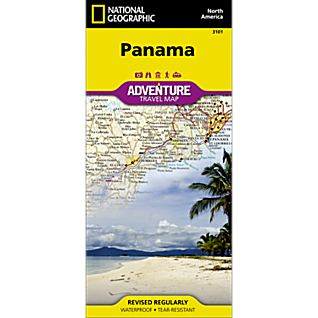 Panama Adventure Map