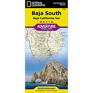 photo: National Geographic Baja South Adventure Map