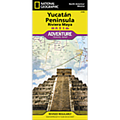 Northern Yucatan Peninsula / Maya Sites Adventure Map
