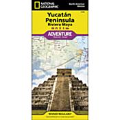 Northern Yucatan Peninsula / Maya Sites Adventure Map