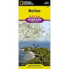Belize Adventure Map, 2009
