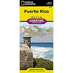 Puerto Rico Adventure Map, 2011
