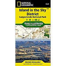 310 Canyonlands National Park: Island in the Sky District Trail Map, 2008