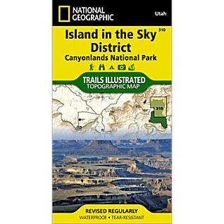 View 310 Canyonlands National Park: Island in the Sky District Trail Map image