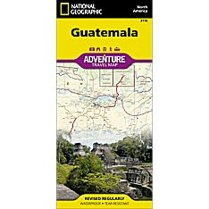 Guatemala Adventure Map, 2013