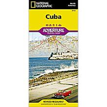 Cuba Adventure Map, 2012