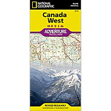 Canada West Adventure Map, 2013