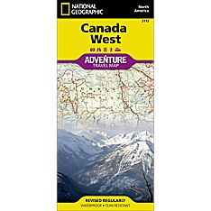 Canada West Adventure Map