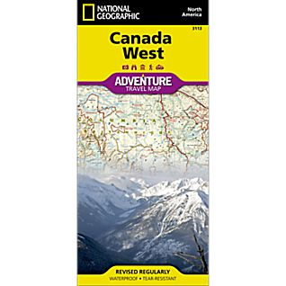 View Canada West Adventure Map image