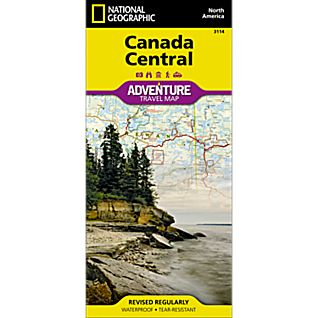 View Canada Central Adventure Map image