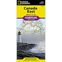Canada East Adventure Map, 2013
