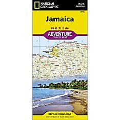 Jamaica Adventure Map