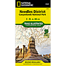 311 Canyonlands National Park: Needles District Trail Map
