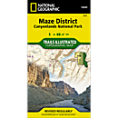 312 Maze District: Canyonlands National Park Trail Map