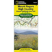 318 Mount Rogers High Country / Grayson Highlands State Park Trail Map, 2013